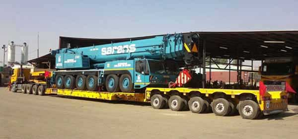 industrial machinery moving by Brij packers and Movers